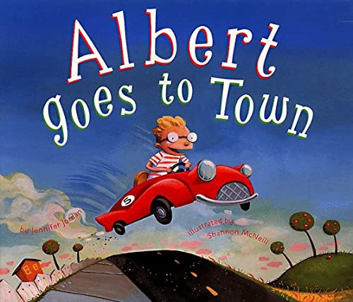 9780811808606: Albert Goes to Town