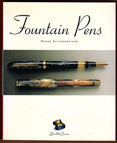 9780811810838: Fountain Pens. Penne Stilografiche. (English and German Edition)