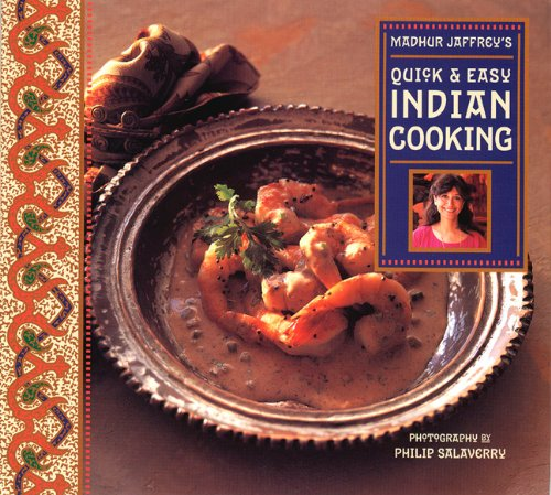 9780811811835: Madhur Jaffrey's Quick & Easy Indian Cooking