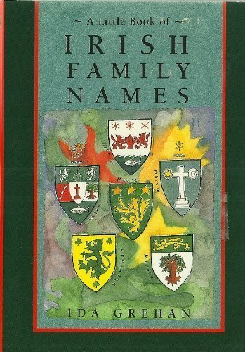 9780811812863: A Little Book of Irish Family Names