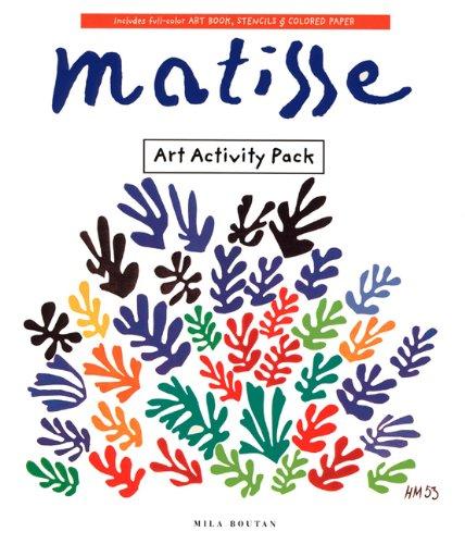 9780811813105: Matisse Art Activity Pack (Art Activity Packs)