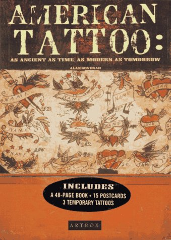 9780811813167: American Tattoo: As Ancient As Time, As Modern As Tomorrow: Book, Postcards and 3 Temporary Tattoos