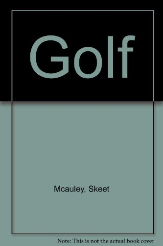 Golf Panoramic Postcard Book: McAuley, Skeet