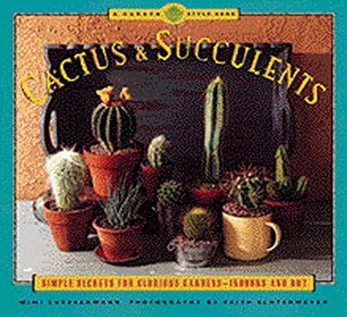 Cactus and Succulents: Simple Secrets for Glorious Gardens - Indoors and Out (Garden Style): Mimi ...