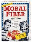 9780811818476: Notecards: Moral Fiber