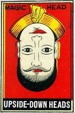 9780811819800: Upside-Down Heads: 24 postcards