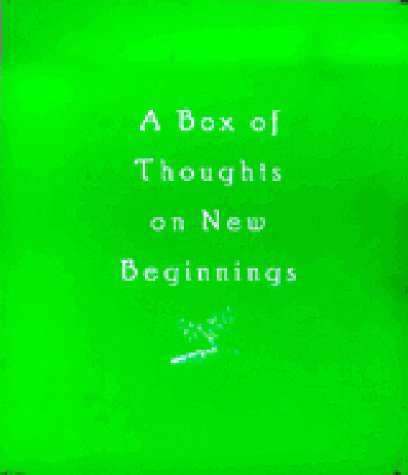 A Box of Thoughts on New Beginnings: Klein, H; WHitcomb, C