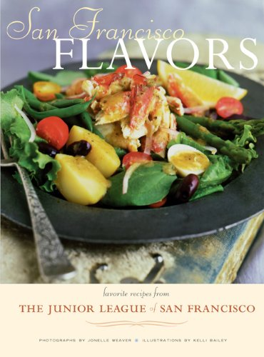 9780811823425: San Francisco Flavors: Favorite Recipes from the Junior League of San Francisco