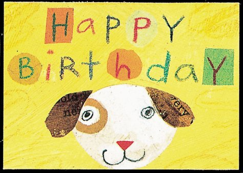 9780811824316: MatchCard Greetings: A Puppy Happy Birthday