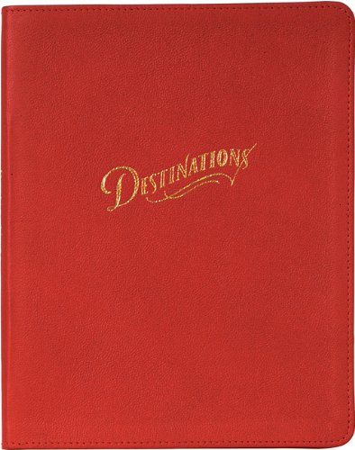 Destinations: A Travel Journal: Chronicle Books Staff
