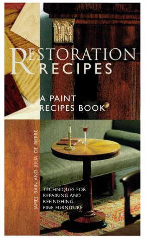 9780811825108: Restoration Recipes: Techniques for Repairing and Refinishing Fine Furniture