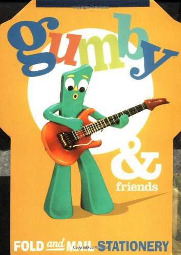 9780811827386: Gumby & Friends Fold and Mail Stationery
