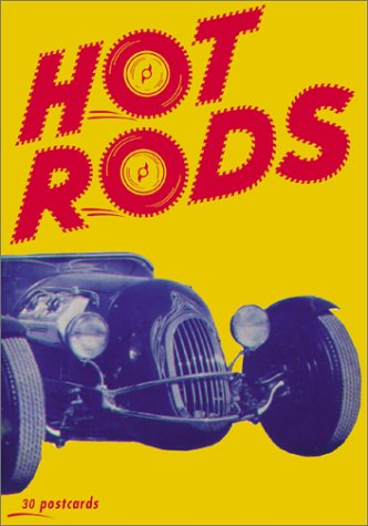 9780811828970: Hot Rods Postcards