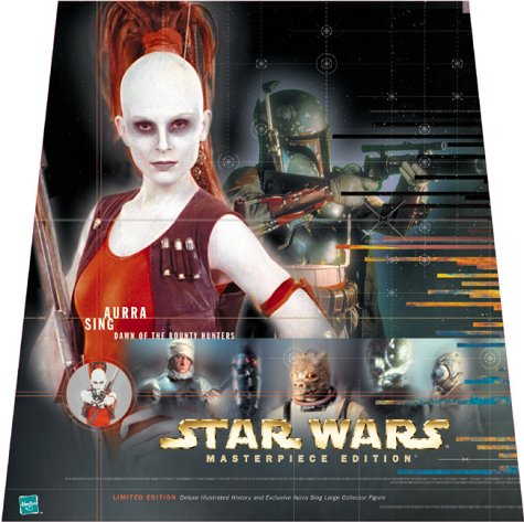 9780811829045: Aurra Sing : Dawn of the Bounty Hunters (Star Wars Masterpiece Edition)