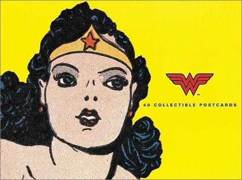 9780811830300: Wonder Woman: 40 Collectible Postcards