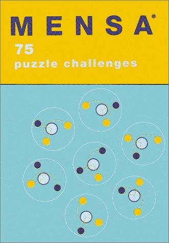 9780811830782: Mensa: 75 Puzzle Challenges