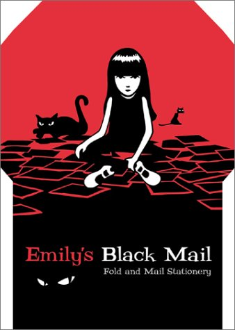 9780811831673: Emily's Black Mail: Fold and Mail Stationery