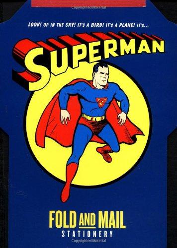 Superman Fold and Mail Stationery: Comics, DC