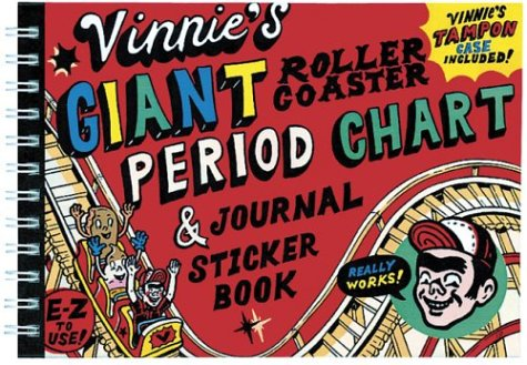 Vinnie's Giant Roller Coaster Period Chart & Journal Sticker Book