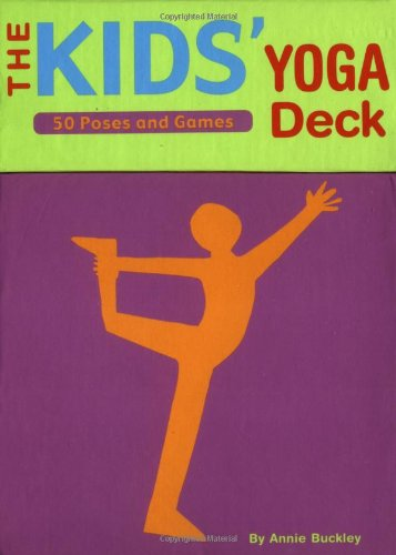 9780811836982: The Kids' Yoga Deck: 50 Poses and Games