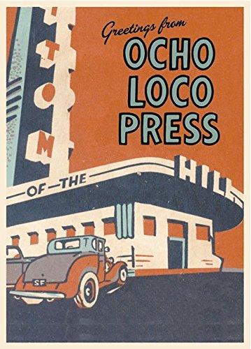 Greetings from Ocho Loco Press (30-Postcard Box): John Wischmann, Ocho Loco Press (Publisher)