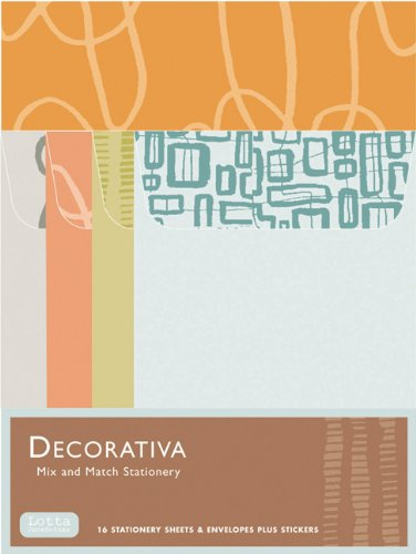 9780811838337: Decorativa: Mix and Match Stationery