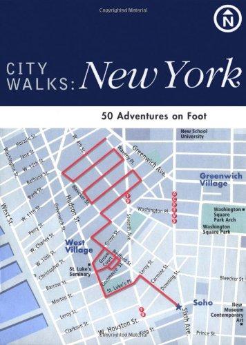 9780811838443: City Walks: New York: 50 Adventures on Foot
