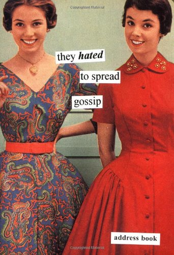 9780811839716: They Hated to Spread Gossip Address Book