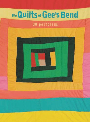 9780811843324: The Quilts of Gee's Bend: 30 Postcards