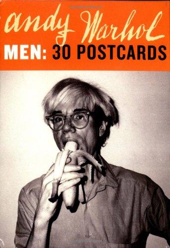 9780811843775: Andy Warhol Men: 30 Postcards