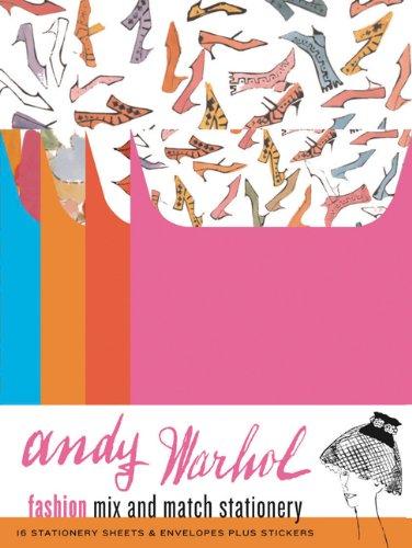 9780811843782: Andy Warhol Fashion Mix and Match Stationery