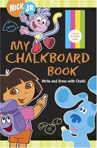 9780811844215: My Chalkboard Book: Write and Draw with Chalk!