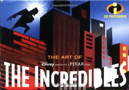 9780811844758: The Art of the Incredibles: 30 Postcards (Pixar)