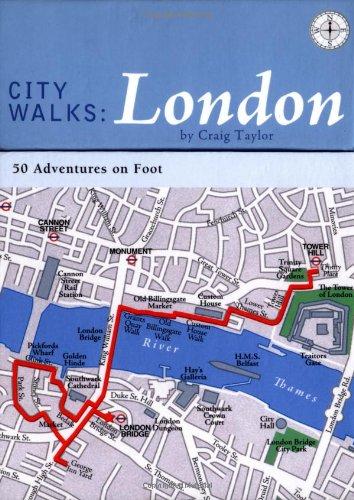 9780811845625: City Walks: London: 50 Adventures on Foot