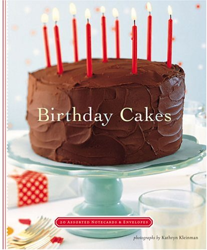 9780811846189: Birthday Cakes Notecards (Deluxe Notecards)