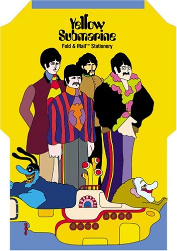 9780811846431: Yellow Submarine Fold and Mail Stationery