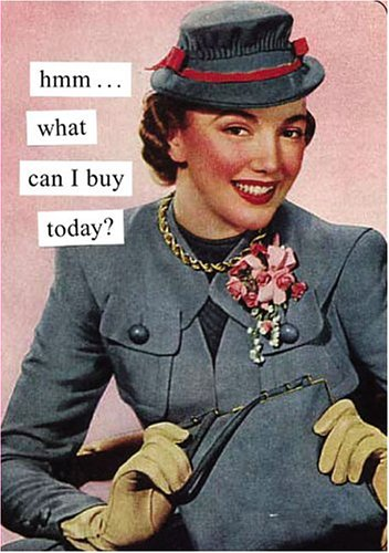 9780811846608: Hmm...What Can I Buy Today? Journal (Anne Taintor)