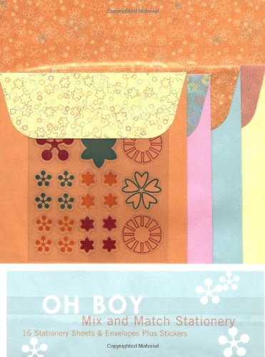 9780811847810: Oh Boy: Mix And Match Stationery