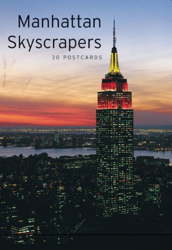 9780811847858: Manhattan Skyscrapers: 30 Postcards