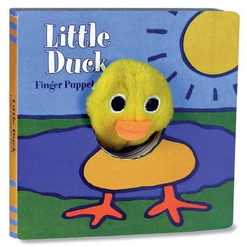 9780811848473: Little Duck: Finger Puppet Book (Little Finger Puppet Board Books)