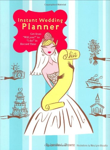 9780811848541: Instant Wedding Planner: Get from Will You to I Do in Record Time