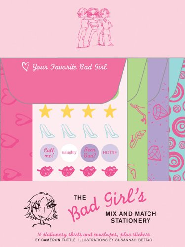 The Bad Girl's Mix and Match Stationery: Tuttle, Cameron