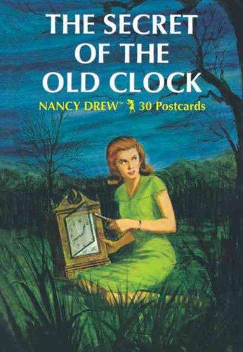 9780811849784: Nancy Drew 30 postcards: The Secret of the Old Clock