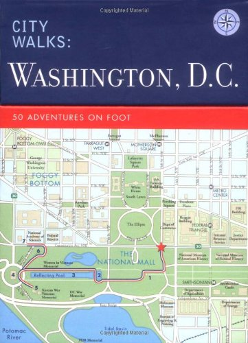9780811851282: Washington D.C.: 50 Adventures on Foot (City Walks)