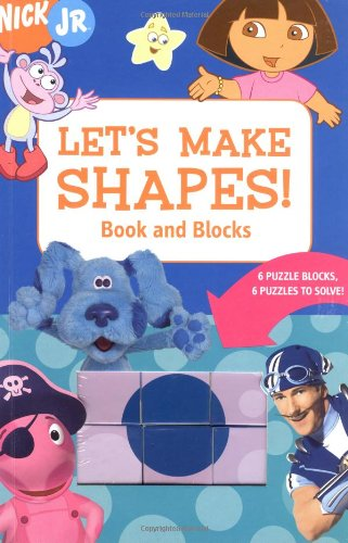 9780811851497: Let's Make Shapes! Book and Blocks: 6 Puzzle Blocks, 6 Puzzles to Solve!