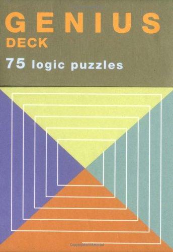 9780811851732: Genius Deck Logic Puzzles (Genius Decks)