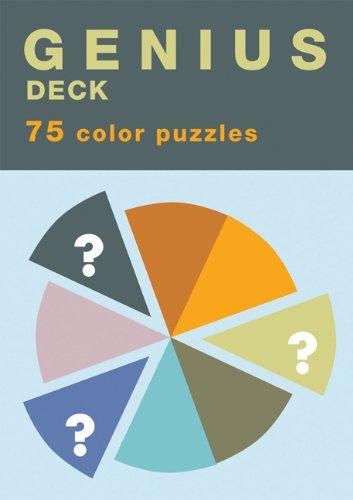 9780811851947: Genius Deck Color Puzzles (Genius Decks)