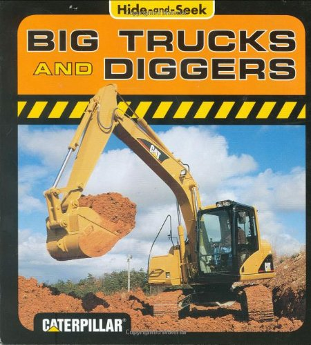 9780811852036: Hide and Seek Big Trucks and Diggers