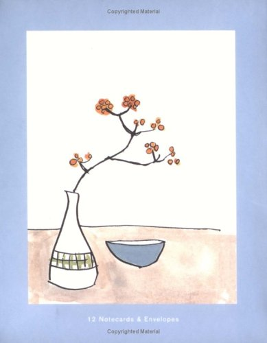 9780811852692: Chronicle Notes: Flowers and Bowls: 12 Notecards and Envelopes