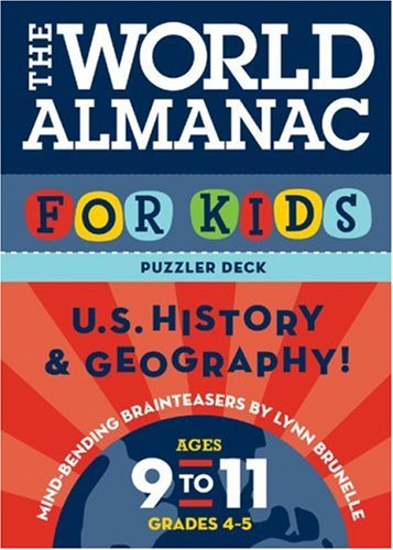 9780811852708: The World Almanac for Kids Puzzler Deck: U.S. History & Geography